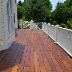 deck remodeling job