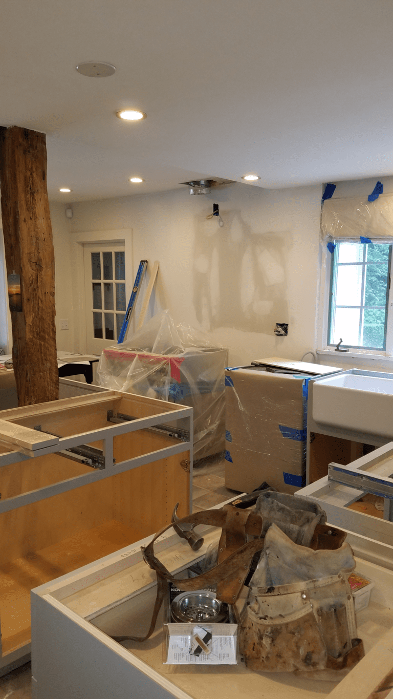 Kitchen Remodel in Weston, CT progress photo by PD Remodels