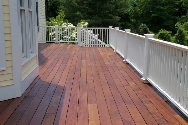 deck remodeling job